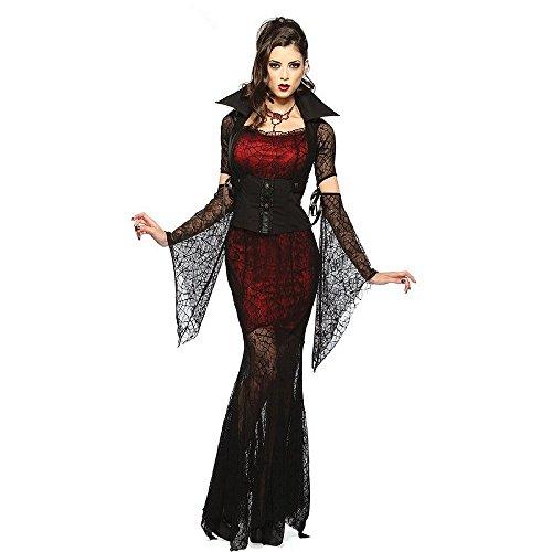 tüm SEXY VAMPIRESS Gr. S (Vampirella Halloween-kostüm)
