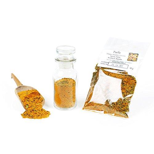 Paella Gewürz, Risotto & Paella Gewürzmischung, Mediterrane Kräuter Würzmischung, glutenfrei, 30g (Fleisch Frische Kaninchen)