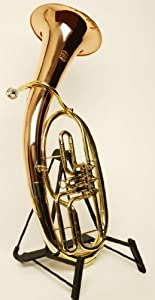 Tenor Horn Horn - Symphonie Wester in Brass, Minibal Joint with Deluxe Hard Case - Gold