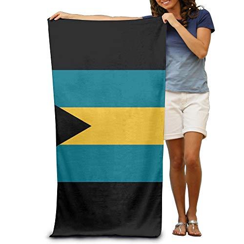 fgjfjhfjtyuj Flag of The Bahamas Badetuch