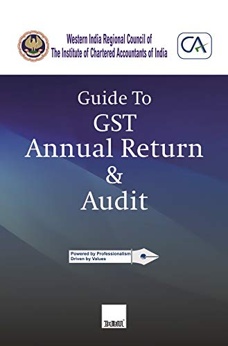 Guide to GST Annual Return & Audit by WIRC of ICAI