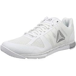 Reebok Speed TR, Zapatillas de Deporte para Mujer, Blanco (White/Silver 000), 37 EU