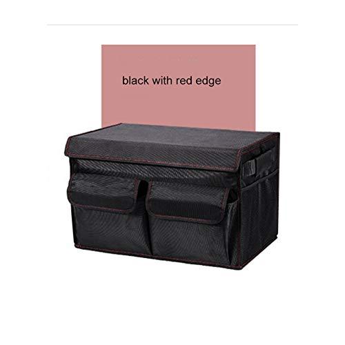 Preisvergleich Produktbild XCCV Kofferraum-Organizer,  strapazierfähig,  zusammenklappbar,  tragbar,  wasserdicht,  rutschfest,  3 große Fächer,  leichtes Design