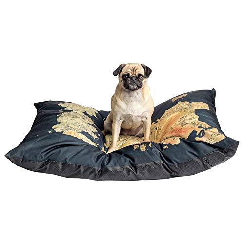 Pet Dog Mattress Colchón Mascotas diseño Mapa Juego