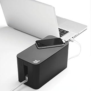 CableBox Mini Kabelbox schwarz