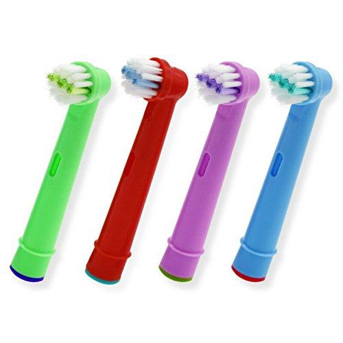 Aufsteckbürste Oral B Kinder, 20 Stück, Ersatz-Bürstenköpfe für Oral B EB-10A Pro Health Stages, Oral Care, 3D Excel -