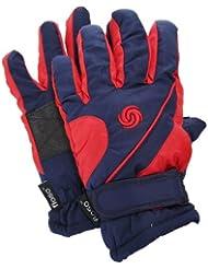 FLOSO - Guantes de invierno/Nieve/Ski/Snowboarding térmicos con adherente en la palma para niños