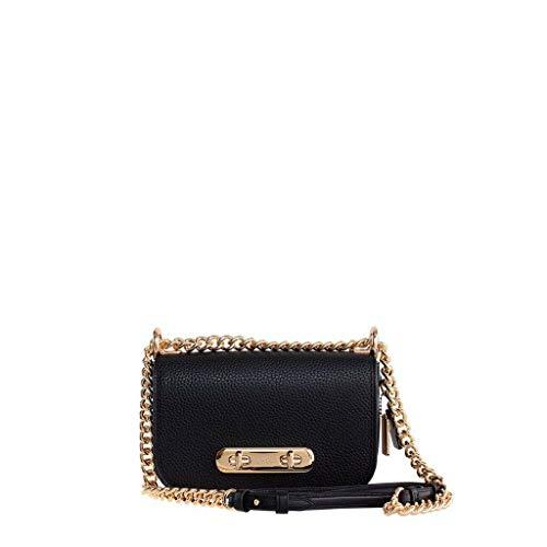 Coach Swagger 20 Ladies Small Leather Shoulder Bag 87321LIBLK (Coach Taschen Schwarz)
