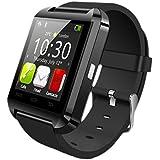 Swiss-Pro Kloten - Reloj inteligente (Bluetooth 3.0, IPS) color negro