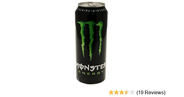 Red Bull Kühlschrank Dose Maße : Monster energy drink l dose amazon lebensmittel
