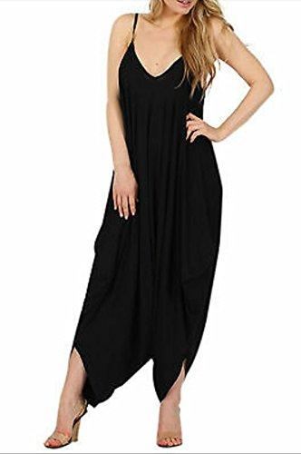 66 Fashion District - Combinaison - Femme noir noir 36 Noir