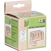 Vedes Großhandel GmbH - Ware 61421076 Natural Games 3D Wooden Game Kreu, White