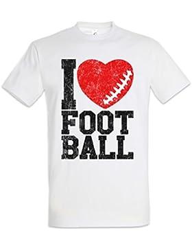 I Love Football II T-Shirt – Tamaños S – 5XL