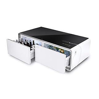 CASO Sound & Cool - Kombi aus Getränkekühler, Soundbar und Lounge-Tisch, Bluetooth, klangvoller Sound, ideal für Lounge-Bereich, das Wohnzimmer oder die nächste Party