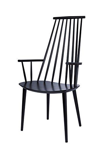 HAY - J110 Stuhl - schwarz - Poul M. Volther - Design - Esszimmerstuhl - Speisezimmerstuhl