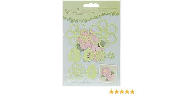 7x Blume Metall DIY Stanzform SchabloneScrapbookAlbum Papierkarte Relief Craft0U