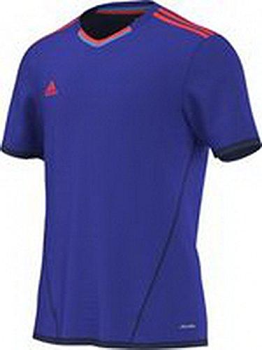 adidas X Climalite Silo di maglietta Violet - night flash s15/solar red