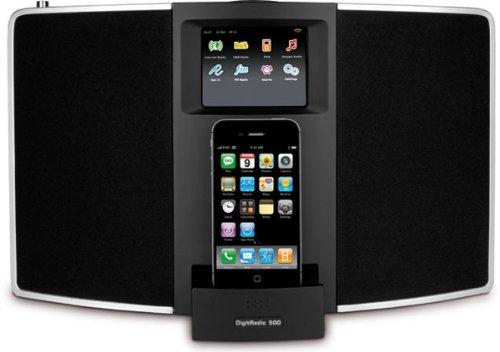 TechniSat DigitRadio 500 (DAB+, DAB, Internetradio, UKW-Empfang) schwarz