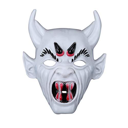 WOBANG Halloween deko Dress Up, Halloween-Thema Creative Halloween Prop Terror Halloween Festival Kostüm Horrible Mask Devil Mask Erwachsenen Herren Smiffys Kostüm - Hexe Themen Kostüm