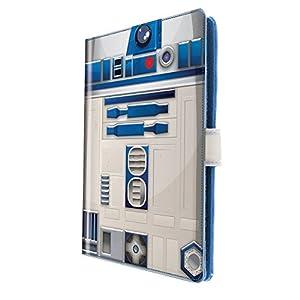 "Star Wars R2-D2 10"" Custodia a libro Blu, Bianco"