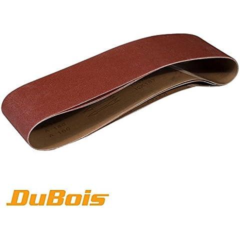 DuBois R110693 100 x 915 mm, grana 180, nastri abrasivi in ossido di alluminio, 3 pezzi