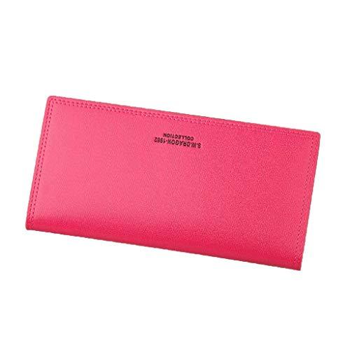 BESSKY Long Wallet Frauen Geldbeutel Geldbörse Holder Wallets Kupplung Money Bag Wallet -