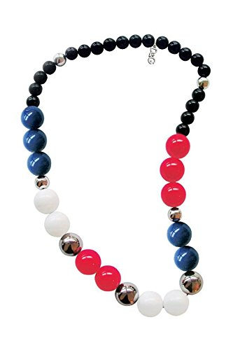 Dolce & Gabbana Jewels D&G Over ME Necklace Blue/RED/White & SS Elements DJ0923 Jewels Dolce Gabbana