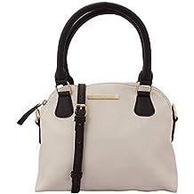 b5961283d97f1 Lapis O Lupo Kleine Handtasche Aus Elfenbeinfarbenem Damen (Naturweiß)