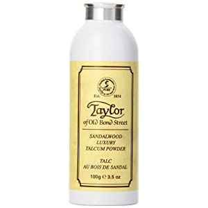 Taylor of Old Bond Street 100g Luxury Sandalwood Talcum Powder