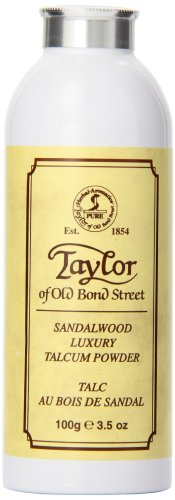Taylor of Old Bond Street 100g Luxury Sandalwood Talcum Powder -