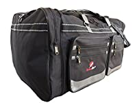 Extra Large XL Big Holdall - Suitcase Size Travel Bag - 100 Litre Very Large Black Luggage Holdalls - Huge Space - Cargo Bags For Storage, Travel or Laundry - 29 Inch 74cm X 36cm X 38cm