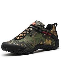 XIANG GUAN Zapatos de Deporte y Aire Libre, Zapatillas Resistente Al Agua Para Senderismo y Montaña Unisex 81289