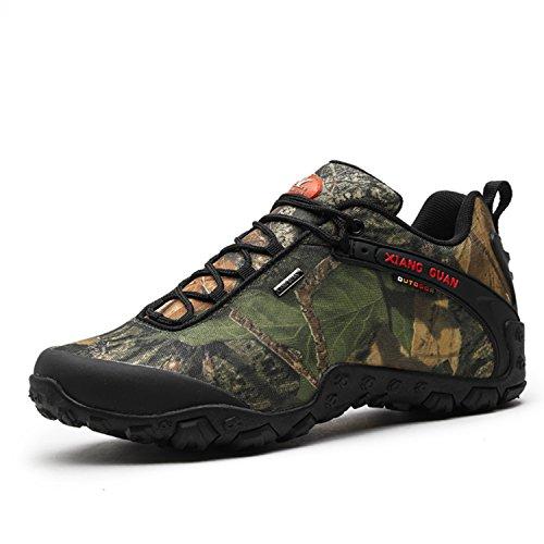 Zapatos de Deporte y Aire Libre, Zapatillas Resistente al Agua para Senderismo y Montaña para Hombre 81289 41