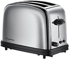 Russell Hobbs Oxford 20700-56 Toaster mit 6 einstellbaren Bräunungsstufen Edelstahl