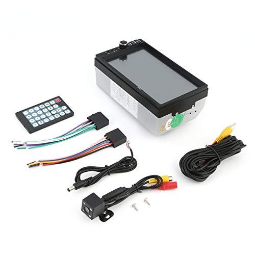 Voiture Véhicule Écran 7 Pouces TF Carte Doule Din Bluetooth MP5 Player Lecteur Multimédia Auto Lecteur Audio Noir