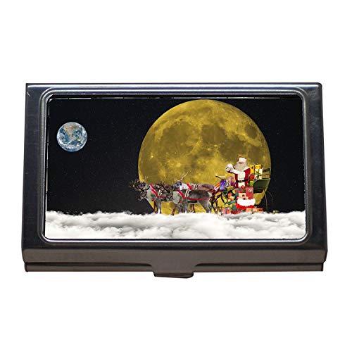 Visitenkartenhalter, Schöner Planet Erde, Planeta-caliente-iloveimg-pressure-min, Visitenkartenetui aus Edelstahl