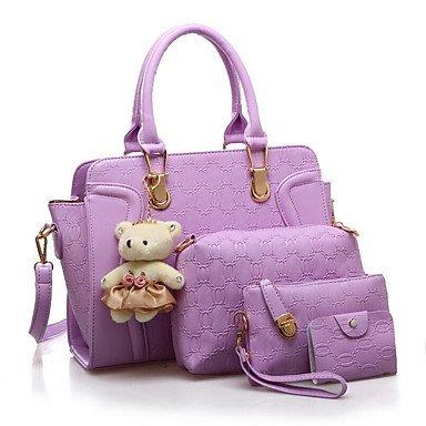 La donna pu Casual Borsa a tracolla,Ruby Purple