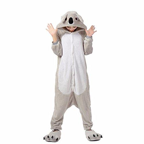 ama Erwachsene Anime Cosplay Halloween Kostüm Kleidung Koala L (Damen Kostüm Koala)