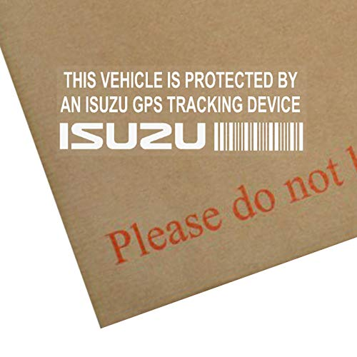 van Alarme tracker 5/X Ppfiatgpsblk appareil de suivi GPS Noir S/écurit/é pour fen/êtres Stickers 87/x Installed on This Vehicle