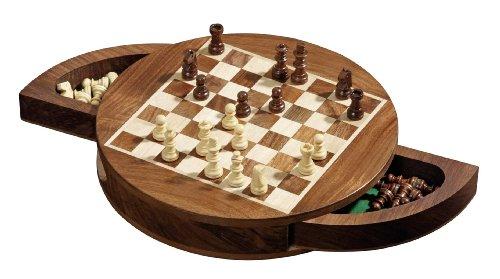 Philos 4014156027299 Tablero ajedrez sencillo Juego
