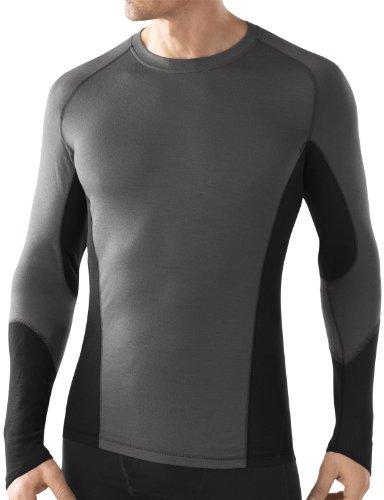 Smartwool shirt à manches longues Homme graphite XL