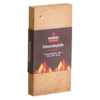 Kamino Flam Assiette Chamotte Résistant à La Chaleur Jusquà 1250 Degrés 250x124x30 Mm
