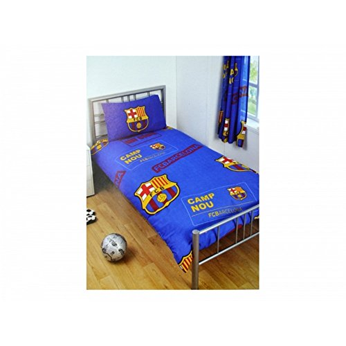 Oficial diseño Parche FC Barcelona Azul edredón