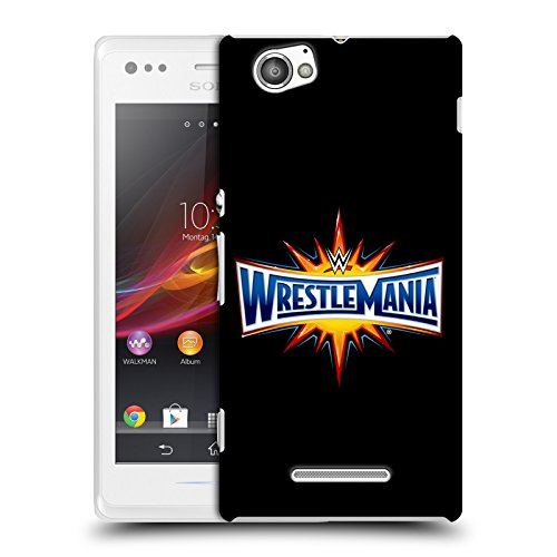 Offizielle Wwe Wrestle Mania The Shows Ruckseite Hülle für Sony Xperia M / M Dual (Wwe Wrestle M)