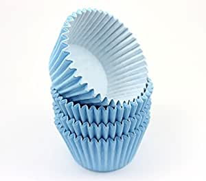 48 Pale Blue High Quality Cupcake Muffin Cases