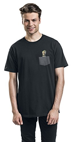 Guardians of the Galaxy 2 - Groot T-Shirt Schwarz Schwarz