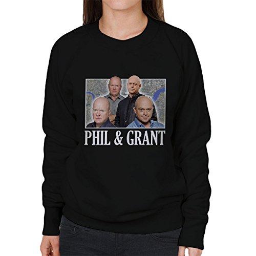 The Mitchell Brothers Eastenders Montage Women's Sweatshirt Black