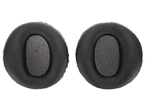 2 Ersatz Ohrpolster für Sony PS3 Pulse Headset, Schwarz -