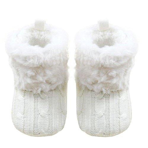 Fulltime® Chaussures bébé Bottes de neige molle Crib Toddler
