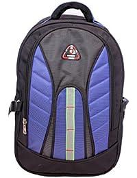 D-Bag Light Blue & Black Colour 40 Ltrs School Bag Backpack (0.4)